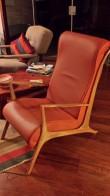 Cadeira em couro – John Graz